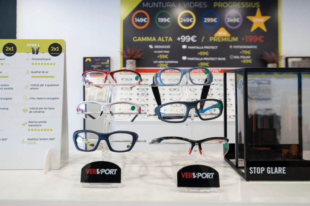 Gafas graduadas en Mataró